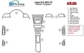 BMW Z3 E36 - 7 03.96 - 03.99 Interior Dashboard Trim Kit Dashtrim accessories, wood grain, camouflage, carbon fiber, aluminum da
