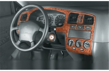 Renault Thalia 05.02 - 12.05 Mittelkonsole Armaturendekor Cockpit Dekor 6 -Teile