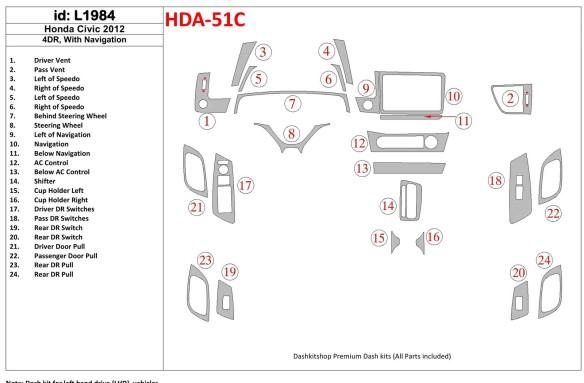 Nissan Qashqaı 01.2013 3M 3D Car Tuning Interior Tuning Interior Customisation UK Right Hand Drive Australia Dashboard Trim Kit