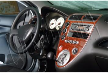 Renault 21 Manager 09.89 - 03.93 Interior Dashboard Trim Kit Dashtrim accessories, wood grain, camouflage, carbon fiber, aluminu