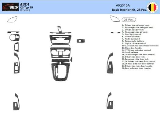BMW 3 Series E36 01.91-04.98 3M 3D Car Tuning Interior Tuning Interior Customisation UK Right Hand Drive Australia Dashboard Tri