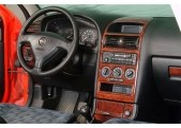 Opel Astra G 03.98-12.03 3M 3D Car Tuning Interior Tuning Interior Customisation UK Right Hand Drive Australia Dashboard Trim Ki