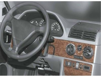 BMW Z3 E36 - 8 04.1999 Interior Dashboard Trim Kit Dashtrim accessories, wood grain, camouflage, carbon fiber, aluminum dash kit