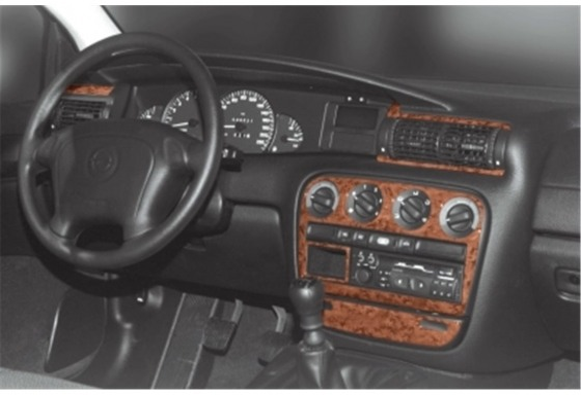 Opel Omega B1 09.93-08.99 3M 3D Car Tuning Interior Tuning Interior Customisation UK Right Hand Drive Australia Dashboard Trim K
