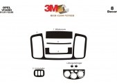 Opel Vivaro 01.01-12.06 3M 3D Car Tuning Interior Tuning Interior Customisation UK Right Hand Drive Australia Dashboard Trim Kit