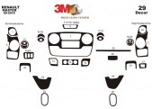 Opel Movano 01.2010 3M 3D Car Tuning Interior Tuning Interior Customisation UK Right Hand Drive Australia Dashboard Trim Kit Das