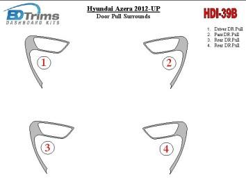 Mitsubishi Safir 01.99 - 12.10 Mittelkonsole Armaturendekor Cockpit Dekor 8 -Teile