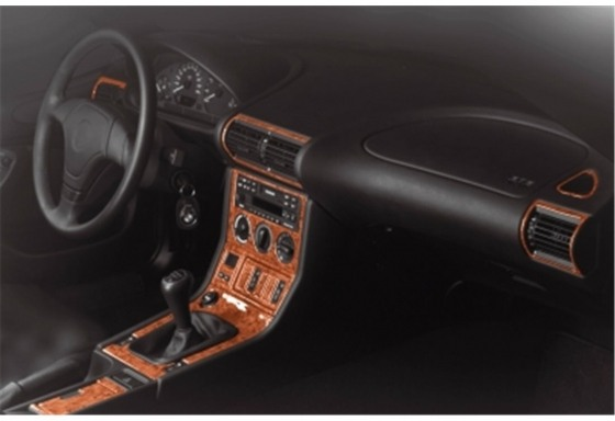 BMW Z3 e36 1996-1999 3M 3D Car Tuning Interior Tuning Interior Customisation UK Right Hand Drive Australia Dashboard Trim Kit Da