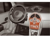 Mitsubishi Pajero Sport 05.2002 Mittelkonsole Armaturendekor Cockpit Dekor 9 -Teile