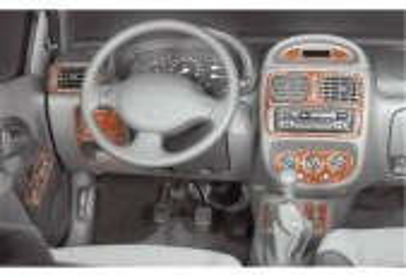 Renault Clio 06.98-05.01 3M 3D Car Tuning Interior Tuning Interior Customisation UK Right Hand Drive Australia Dashboard Trim Ki