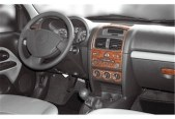 Renault Clio-2 06.01-08.05 3M 3D Car Tuning Interior Tuning Interior Customisation UK Right Hand Drive Australia Dashboard Trim