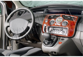 Volkswagen Carevelle T6 09.2009 Mittelkonsole Armaturendekor Cockpit Dekor 37 -Teile