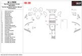 Volkswagen Fox 09.2005 Mittelkonsole Armaturendekor Cockpit Dekor 9 -Teile