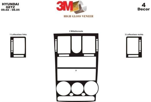 Renault Laguna 04.94-06.98 3M 3D Car Tuning Interior Tuning Interior Customisation UK Right Hand Drive Australia Dashboard Trim