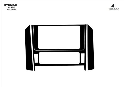 Renault Laguna 09.2009 3M 3D Car Tuning Interior Tuning Interior Customisation UK Right Hand Drive Australia Dashboard Trim Kit