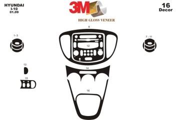 Citroen Jumpy 01.2007 Interior Dashboard Trim Kit Dashtrim accessories, wood grain, camouflage, carbon fiber, aluminum dash kits