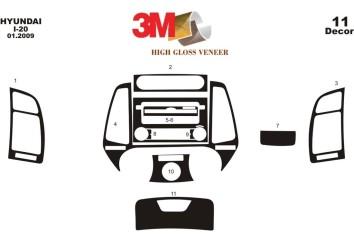 Citroen Jumpy 01.96 - 12.06 Interior Dashboard Trim Kit Dashtrim accessories, wood grain, camouflage, carbon fiber, aluminum das