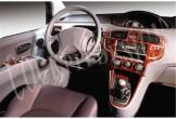 Daewoo Nexia 02.95 - 05.97 Mittelkonsole Armaturendekor Cockpit Dekor 12 -Teile
