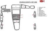Volkswagen Transporter T5 08.03 - 08.09 Mittelkonsole Armaturendekor Cockpit Dekor 29 -Teile