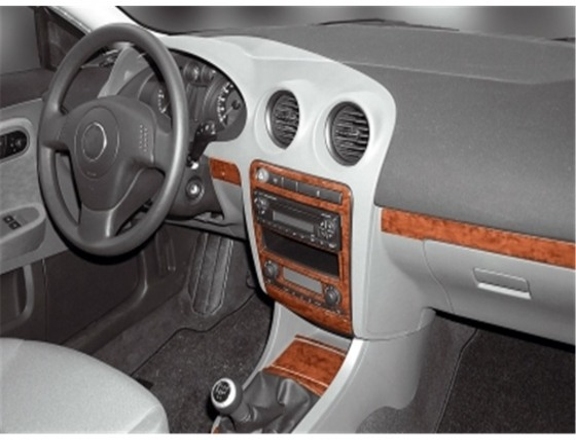Seat Ibiza-Cordoba 04.02-12.07 3M 3D Car Tuning Interior Tuning Interior Customisation UK Right Hand Drive Australia Dashboard T