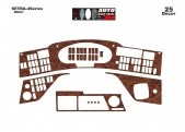 Setra 4-Series 01.2002 3M 3D Car Tuning Interior Tuning Interior Customisation UK Right Hand Drive Australia Dashboard Trim Kit