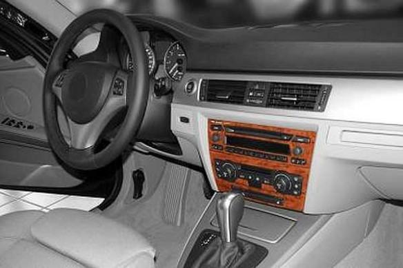 BMW 3 Series F30 01.2012 3M 3D Car Tuning Interior Tuning Interior Customisation UK Right Hand Drive Australia Dashboard Trim Ki