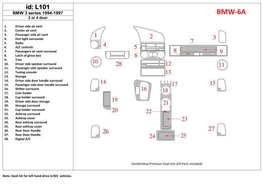 Chery Tiggo 4x4 09.2007 3M 3D Car Tuning Interior Tuning Interior Customisation UK Right Hand Drive Australia Dashboard Trim Kit