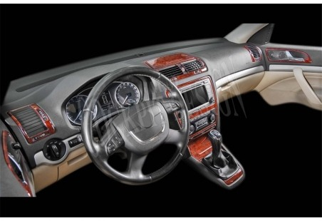 Toyota Corolla 03.97 - 02.02 Mittelkonsole Armaturendekor Cockpit Dekor 14 -Teile