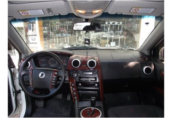 Toyota Prado 01.97 - 12.00 Mittelkonsole Armaturendekor Cockpit Dekor 15 -Teile