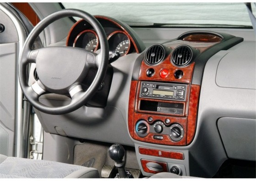 Chevrolet Aveo 03.04-01.06 3M 3D Car Tuning Interior Tuning Interior Customisation UK Right Hand Drive Australia Dashboard Trim