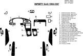 Renault Laguna 07.98 - 01.01 Mittelkonsole Armaturendekor Cockpit Dekor 15 -Teile