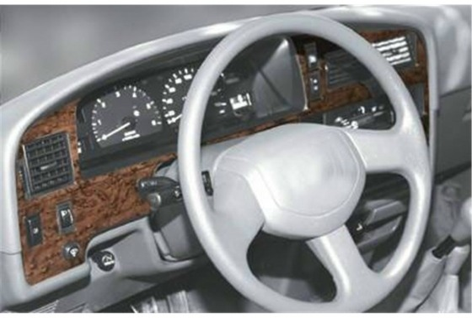 Toyota 4 Runner 10.89-08.96 3M 3D Car Tuning Interior Tuning Interior Customisation UK Right Hand Drive Australia Dashboard Trim