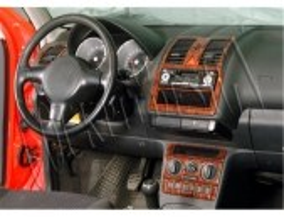 Volkswagen Polo 6N2 10.99-08 01 3M 3D Car Tuning Interior Tuning Interior Customisation UK Right Hand Drive Australia Dashboard