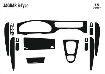 Chevrolet Epica 01.2007 Mittelkonsole Armaturendekor Cockpit Dekor 7 -Teile