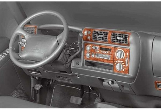 Chevrolet Matiz - Spark 02.2005 Mittelkonsole Armaturendekor Cockpit Dekor 3 -Teile