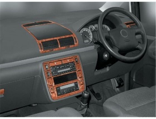 Volkswagen Sharan 04.00-12.09 3M 3D Car Tuning Interior Tuning Interior Customisation UK Right Hand Drive Australia Dashboard Tr