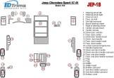 Volkswagen Passat B7 01.2010 Mittelkonsole Armaturendekor Cockpit Dekor 17 -Teile