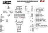 Mercedes Actros Full Set 04.03 - 08.11 Mittelkonsole Armaturendekor Cockpit Dekor 42 -Teile
