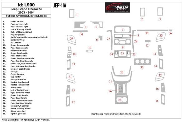 Volkswagen Transporter T4 01.96-08.98 3M 3D Car Tuning Interior Tuning Interior Customisation UK Right Hand Drive Australia Dash