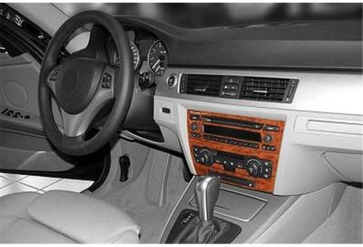 Chevrolet Kalos 01.2002 Mittelkonsole Armaturendekor Cockpit Dekor 6 -Teile