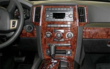 Kia Cerato LX Sedan 05.04 - 03.07 Interior Dashboard Trim Kit Dashtrim accessories, wood grain, camouflage, carbon fiber, alumin