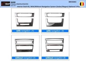 Chevrolet Espero 01.95 - 01.98 Mittelkonsole Armaturendekor Cockpit Dekor 11 -Teile
