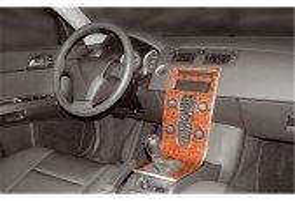 Volvo S 40-V 50-C 30 06.2003 3M 3D Car Tuning Interior Tuning Interior Customisation UK Right Hand Drive Australia Dashboard Tri