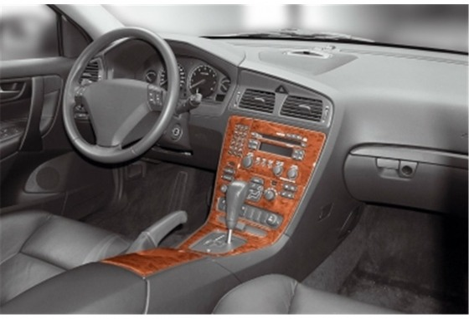 Volvo S 60 08.00-04.05 3M 3D Car Tuning Interior Tuning Interior Customisation UK Right Hand Drive Australia Dashboard Trim Kit