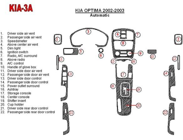 Volvo S 60-V 70 05.05-12.09 3M 3D Car Tuning Interior Tuning Interior Customisation UK Right Hand Drive Australia Dashboard Trim