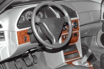 Audi A2 02.00 - 01.05 Mittelkonsole Armaturendekor Cockpit Dekor 8 -Teile