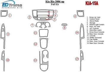VOLVO FH12 Cars Interior Dash Kits - real Wood Grain, Carbon Fiber ...