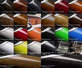 CHEVROLET LOVA 2006–2010 Smoked Bug Deflector