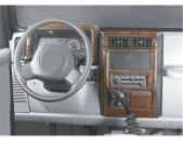 Chrysler Wrangler 09.1996 3M 3D Car Tuning Interior Tuning Interior Customisation UK Right Hand Drive Australia Dashboard Trim K