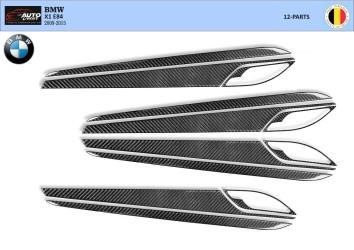 Citroen C5 06.04 - 09.08 Interior Dashboard Trim Kit Dashtrim accessories, wood grain, camouflage, carbon fiber, aluminum dash k